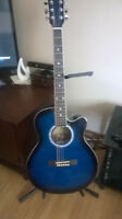 Brand new acoustic electric guitar