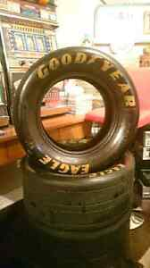 "13""Track Used Racing Tire. NEAT MANCAVE ITEM"