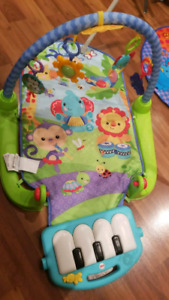 Fisher Price Playmat with Piano
