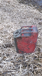 Old jeep jerry can