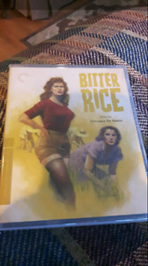 Criterion Collection Bitter Rice Blu Ray For Sale