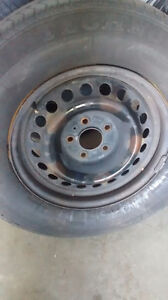 4 steel rims for snow tires Gatineau Ottawa / Gatineau Area image 1