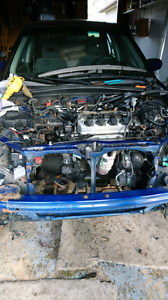 D17a2 engine with tranny