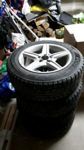 Mercedes-benz glk winter hiver tires