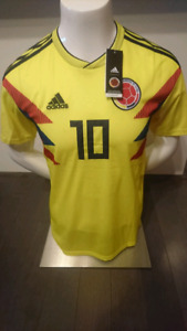2018 Colombia Home/Away Jerseys! 100% Like Authentic!!