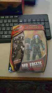 Mr. Freeze dc comics figurine