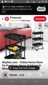 Trolley from Wayfair kitchen