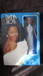1977 Vintage  NIB Mego Corp Diana Ross Doll #76000.
