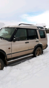 2002 Landrover  Discovery with winch