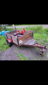 Small utility trailer for sale