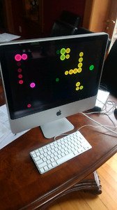 Mint imac 20inch screen