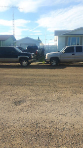 2007 old style chevy and a 2005 for parts