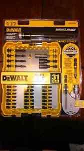 DeWalt drill set