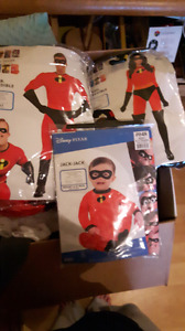 The incredibles family costume set