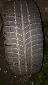 Michelin snow tires  215/45/17