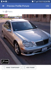 2002 Mercedes-Benz C32 AMG SprCHrged 350 horse