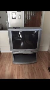 "36"" JVC TV and stand"