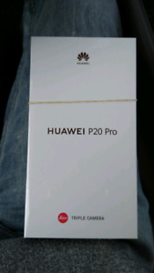 Brand new sealed huawei p20 pro for sale