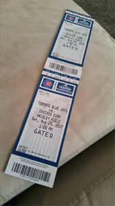 Jays vs Chicago Cubs at Wrigley Field (Road Trip!) Sat Aug 19