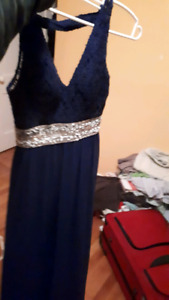Blue formal gowns