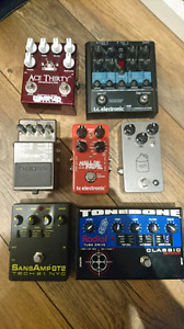 Guitar pedals for sale/trade