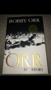 Bobby Orr autographed!