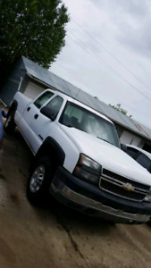 2005 chevy silverado 2500HD crew cab long box