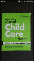 Licensed Childcare in Chesley
