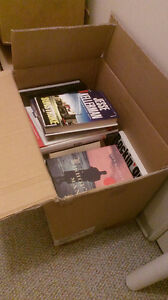 Box of books $25 or best offer