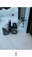 Snow-blowing Services