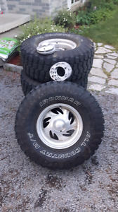 33x12.5x15 Ironman All Country MT Tires and Rims