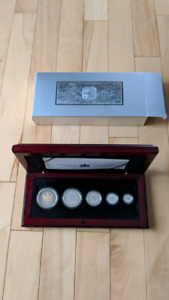 2003 Silver Maple Leaf Hologram Set - Coffret Hologramme