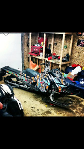 Snowmobile repairs and mods and small engine repair