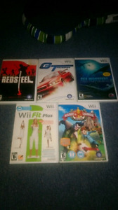 Wii games for sale EUC