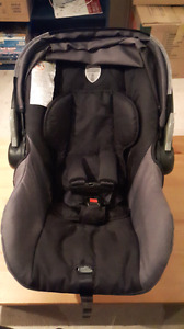 Car seat with extras