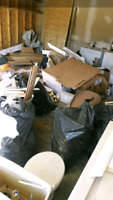 LOW CHEAP JUNK REMOVAL AND DELIVERY SERVICES 780-807-7634
