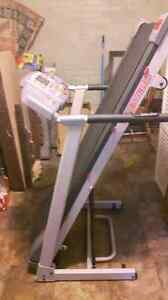 Fitness Plus Electric Fold Up Treadmill In Good Condition