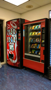 Vending Machines & Locations For Sale