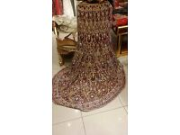Bridal lehnga / lehenga Asian wedding dress