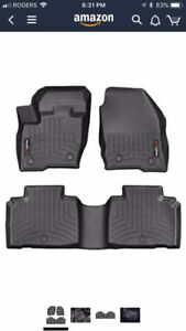 2016-2018 Lincoln MKX Weathertech Mats