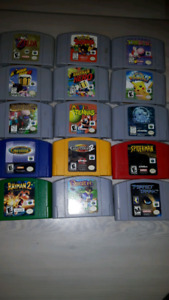 Lots of Nintendo 64 games, open to trades