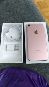 Iphone 7 unlocked 32 gb great condition