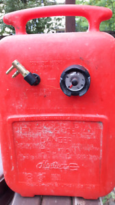 Aux Fuel / gas Reservoir tank for outboard boat