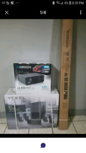 Projector Home Theatre System