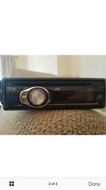 JVC KD R301 stereo with front aux port