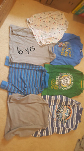 Box of boys clothes.  6 yrs.