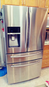 $2,700 • SAMSUNG SS FRIDGE AND MATCHING RANGE
