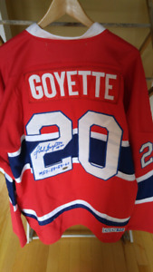 Gilet Canadiens signé no 20