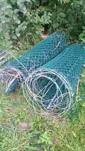 50 feet of frost fence chain link and posts West Island Greater Montréal image 1