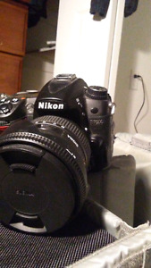 Nikon D7000, lenses, and bag